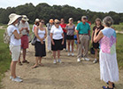 Photo of the Annual Shelter Island Library Tour on the Taylors Island Causway