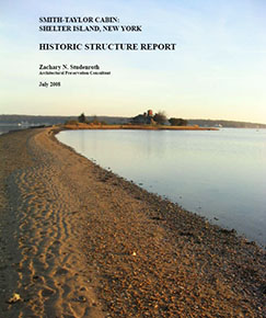 Front cover of the Historic Structure Report