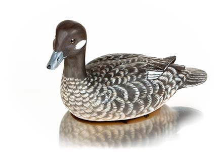 Hen Bufflehead Decorative Decoy