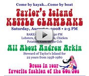 View a slide show of the Andrew Arkin Clambake with sound from the event