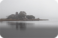 thumbnail of Taylor's Island in fog and mist